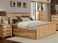 AAmerica ADANT5171K5P Adamstown 5 Piece Bedroom Set with King Sized Storage Bed  Chest  Dresser  Mirrror and Nightstand
