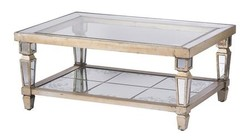 A and B Home 43619 Silas Coffee Table In Champagne