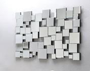 Acme Furniture 97104 Lela Accent Mirror  Silver