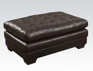 Acme Furniture 50772 Nigel Ottoman  D-Brown BLM