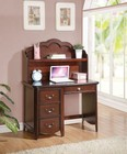 Acme Furniture 30287 Cecilie Computer Desk  Cherry