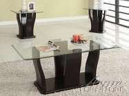 Acme Furniture 18450 Shaker 3Pc Coffee/End Table Set  Espresso