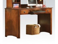 Acme Furniture 11019 Brandon Computer Desk  Antique Oak