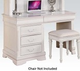 Acme Furniture 30135 Classique Computer Desk  White