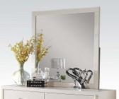 Acme Furniture 22504 Louis Philippe III Mirror  Cream
