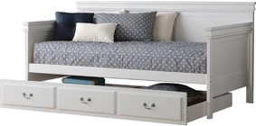 Acme Furniture Bailee Collection 39100SET 2 PC Bedroom Set with Daybed + Trundle in White Finish
