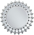 Acme Furniture 97057 Flo Accent Mirror  Silver