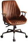 Acme Furniture 92413 Hamilton Collection Executive Office Chair In Cocoa Tg Leather