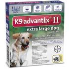 Advantix 4 MONTH K9 Advantix II BLUE for Extra Large Dogs (over 55 lbs)