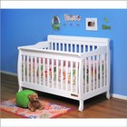 AFG 4689W Athena Alice 3-in-1 Convertible Crib in White