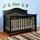 AFG 4688E Jordana Lia 3-in-1 Convertible Crib in Espresso