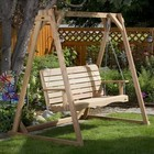 All Things Cedar AF72-S 4ft. Swing/w A-Frame Set