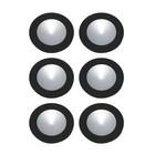 Alico WLE140C32K-0-31-6 6-Polaris LED Kit - 3W 32K 700Ma Pucklights in White C/W 18W Driver & Harness