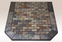 American Panel AP839 Tumbled Slate Collection Montana Flagstone 48