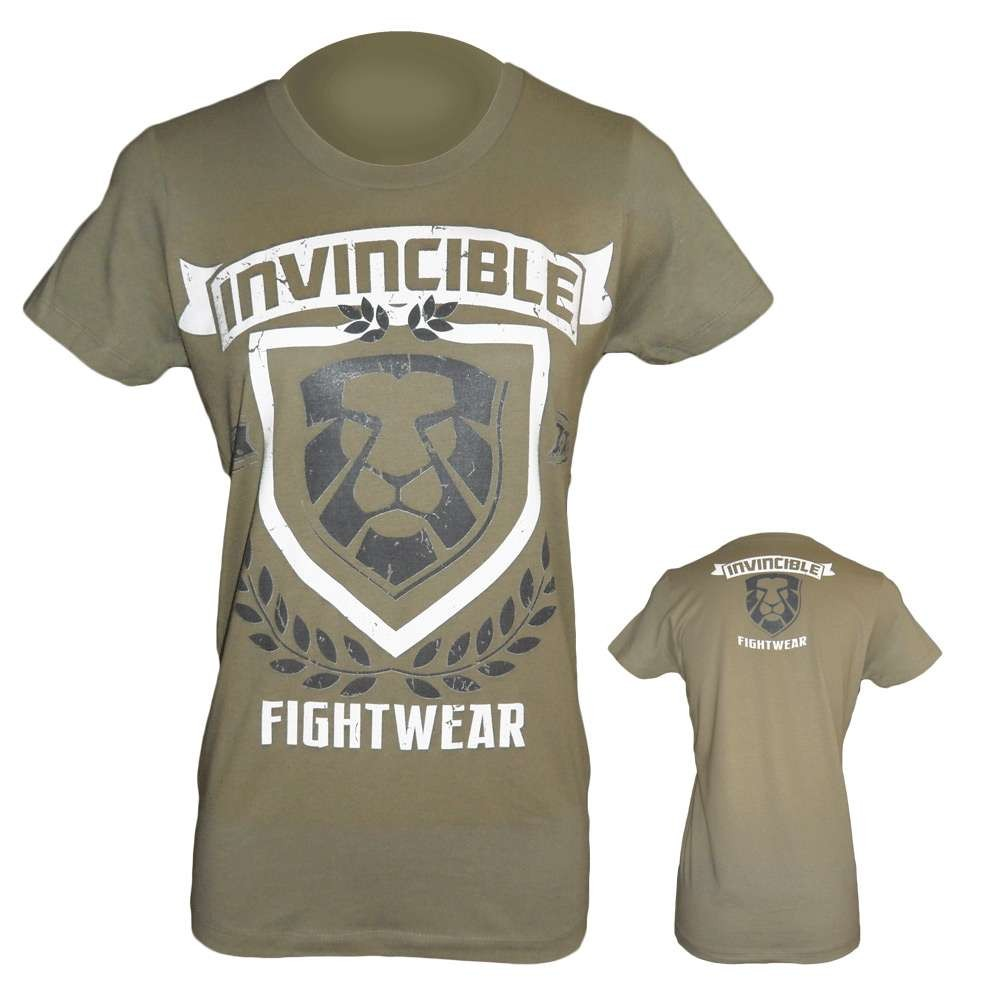 Amber Home Goods Gray Large Women's Invincible Fight Wear