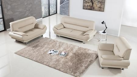 American Eagle Furniture AE709 Collection AE709-CRM 3-Piece Living ...