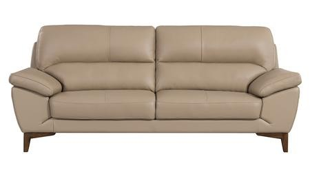 American Eagle Furniture EK080 Collection EK080 TAN SF Tan Italian Leather  Sofa