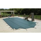 Arctic Armor WS405G Green 12-Year Mesh Safety Cover For 20' x 44' Rectangular Pool in Green