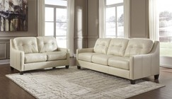 Ashley O'Kean 59102SL 2-Piece Living Room Set with Sofa and Loveseat in Galaxy
