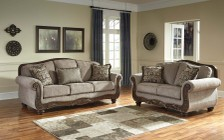 Ashley Cecilyn 57603-38-35 2-Piece Living Room Set with Sofa and Loveseat in Cocoa