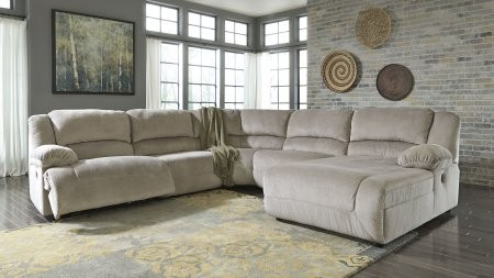 Ashley Toletta 56703SEC5R 5-Piece Sectional Sofa with Right Arm ...