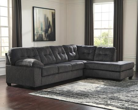 Ashley Accrington Collection 70509 66 17 2 Piece Sectional Sofa With