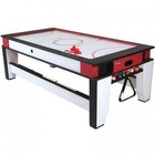 Atomic G05214W 7' 2-in-1 Flip Top Air-powered Hockey and Billiard Table with Two 57