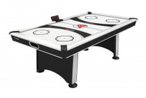 Atomic G03510W Blazer 7' Air Hockey Table with 5