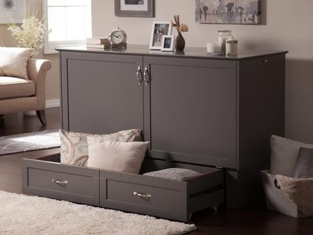 Atlantic Furniture Madison Ac604142 Murphy Bed Chest Queen