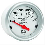 Auto Meter 4336 Ultra-Lite Electric Cylinder Head Temperature Gauge