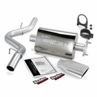 BANKS 00-03 Jeep 4.0/00-02 2.5 Wrglr Monster Exhaust System Install 1.5 Hrs. Ship Weight 25