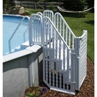 Blue Wave NE138 Complete Stair Entry System W/Gate