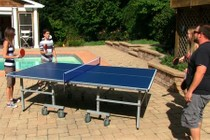 Blue Wave NG2336P Contender Outdoor Table Tennis Table