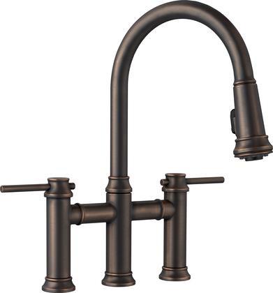 Blanco 442507 Empressa Bridge Pull Down Kitchen Faucet 1.5 Gpm In Oil  Rubbed Bronze