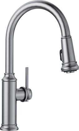 Blanco 442500 Empressa Pull Down Kitchen Faucet 1.5 Gpm In Stainless Finish