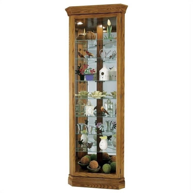 Bowery Kitchen Supplies: Bowery Hill Corner Curio Cabinet