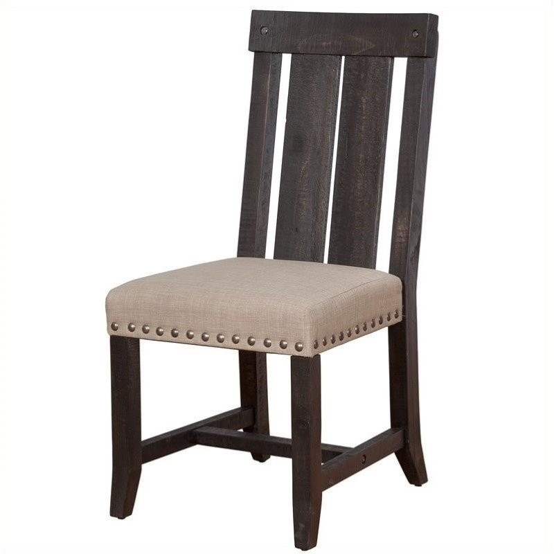 Bowery Hill Dining Chair In Cafe (Set Of 2)