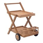 Brika Home Outdoor Trolley in Natural