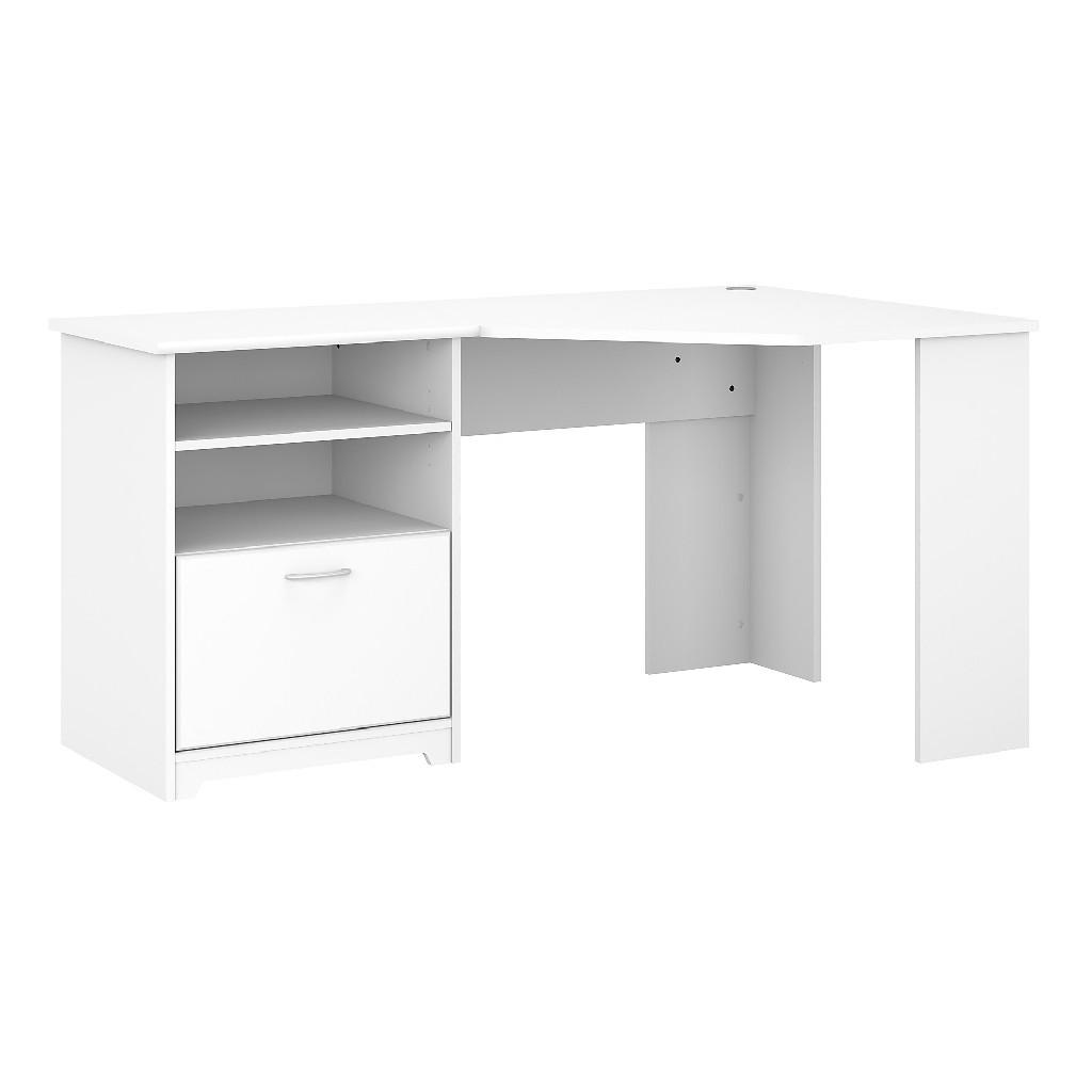Bush Furniture Corner Desk In White Bush Furniture Wc31915k Discount Bandit
