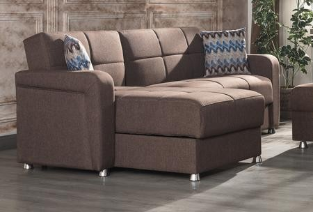 Casamode Harmony Collection HARMONY SECTIONAL BROWN 103\