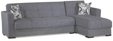 Casamode Mystic Collection MYSTIC SECTIONAL GRAY 26-440 102\
