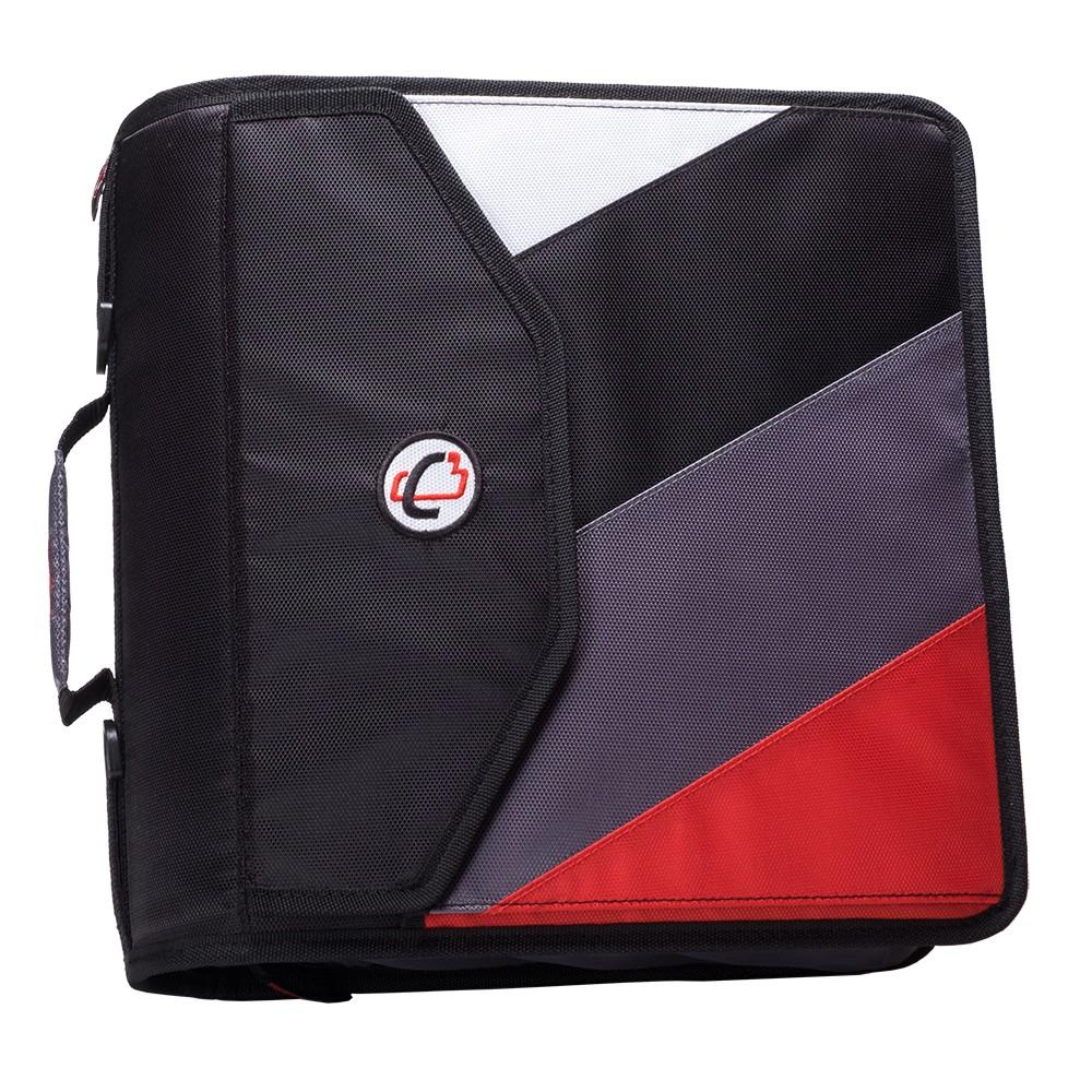 """Case-it Wholesale Case-it King Size Zipper 4"""" Backpack"""