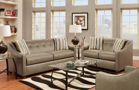 Chelsea Home Furniture 475440SSPL Brittany Sofa + Loveseat with 16 Gauge  Border Wire Kiln Dried Hardwood Frames Throw Pillows Sinuous Springs and  Sewn
