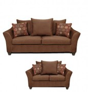 Chelsea Home Furniture 6900sl Kendra Sofa Loveseat With 1 5 Density Dacron Wred Cushions Sewn Pillow