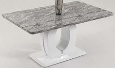 Chintaly SAMANTHA-DT Samantha Dining Table in White