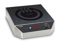 CookTek Heritage Single Counter Top Cooktop with LED Display For Power Level or Temperature  Rotary Knob and Button For Easy Control  Induction Technology and Worldwide Plug Options