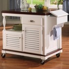 Coaster 910013 Kitchen Rack In White Cherry Finish by Coaster Co.