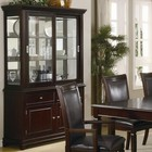 Coaster 101634 Ramona Formal Dining Room Buffet with Hutch by Coaster