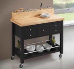 Coaster 102668 Kitchen Island