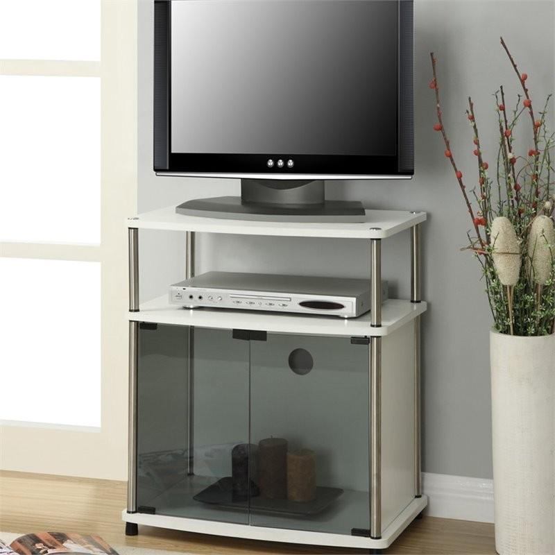 Convenience Concepts Designs2go 25 Tv Stand In White